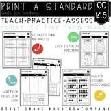 Tell How Many | CC K.5 | No Prep Tasks for Instruction and Assessment