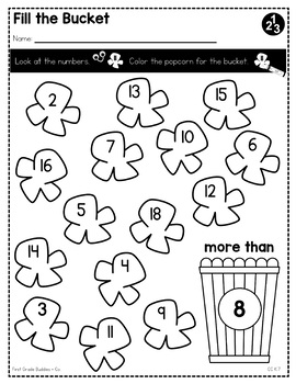 Compare Written Numbers | CC K.7 | No Prep Tasks | Assessment | Worksheets