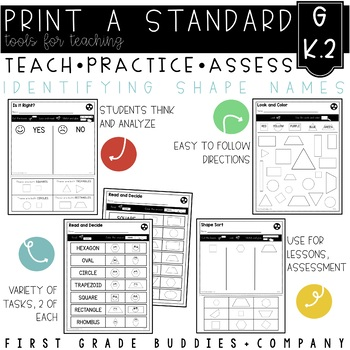 Print a Standard K.G.2 {Name Shapes Regardless of Size/Ori