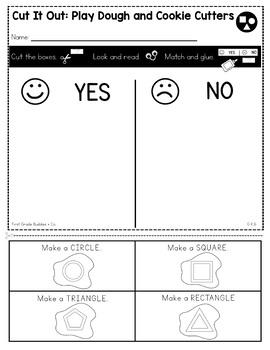 Shapes | G K.6 | No Prep Tasks | Assessment | Worksheets