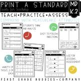 Measurement Comparison   MD K.2   No Prep Tasks for Instruction and Assessment