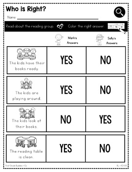 Print a Standard RL K.10 {Group Reading Activities} Activities + Assessments
