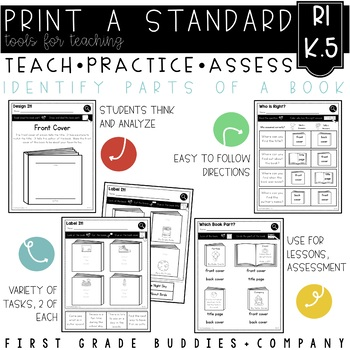Print a Standard K.RI.5 {Cover Page/ Back Cover/Title Page} No Prep Pack