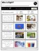 Text Illustrations   RI K.7   No Prep Tasks   Assessment   Worksheets