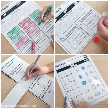 Print a Standard RI K.8 {Identifying Supporting Points} Activities + Assessments