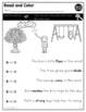Unknown Words in Text | RL K.4 | No Prep Tasks | Assessment | Worksheets