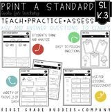 Ask and Answer Questions | SL K.3 | No Prep Tasks for Instruction and Assessment