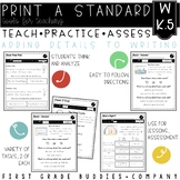Adding Details to Writing | W K.5 | No Prep Tasks for Instruction and Assessment