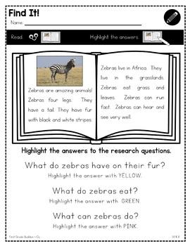 Writing Ideas | W K.8 | No Prep Tasks | Assessment | Worksheets