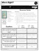 Print a Standard RI 2.8 {Author's Purpose: Supporting Points Made} No Prep Pack