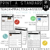 Point of View & Supporting Reasons | RI 2.8 | No Prep Tasks | Worksheets