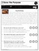 Point of View & Supporting Reasons | RI 2.8 | No Prep Tasks | Worksheets