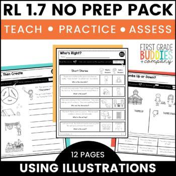 Print a Standard RL 1.7 {Using Illustrations + Details} Activities + Assessments