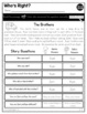 Print a Standard RL 1.9{Compare & Contrast Adventures of Characters}No Prep Pack