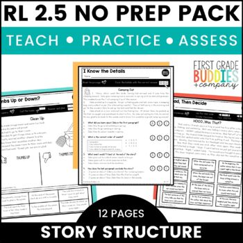 Print a Standard RL 2.5 {Overall Structure of the Story} No Prep Pack