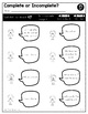 Print a Standard SL 1.6 {Produce Complete Sentences} No Prep Pack