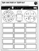 1st Grade MATH Curriculum Companion | No Prep Tasks | Assessment | Worksheets