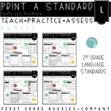 2nd Grade Language Standards | No Prep Tasks | Assessment | Worksheets