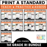 Print a Standard for ELA {RI BUNDLE} Over 100 No Prep Activities