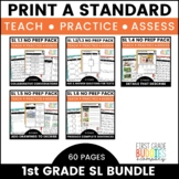 Print a Standard for 1st Grade {Speaking & Listening BUNDLE} Over 50 Activities