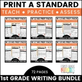 Print a Standard for 1st Grade {Writing BUNDLE} Over 60 Activities + Assessments