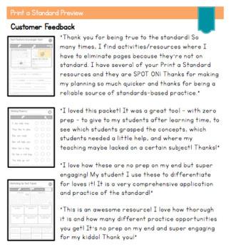 Kindergarten Informational Text Standards | No Prep Tasks|Assessment|Worksheets