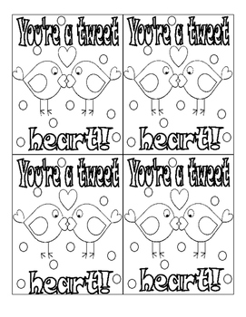Print and Color Valentines