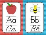 Print and Cursive Alphabet Cards
