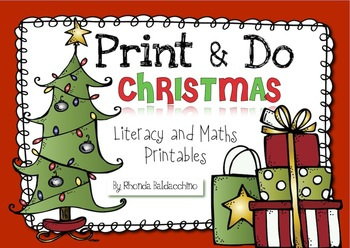 Christmas NO PREP Worksheets and Activites