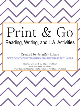 Print and Go Activities