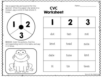 Print and Go Apraxia Worksheets!