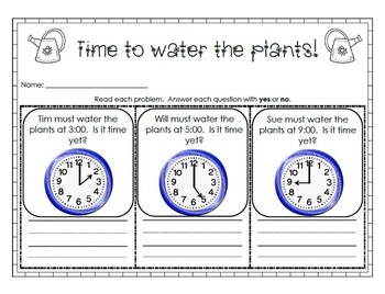 Print and Go: April Math and Literacy Activities