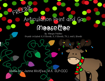 Print and Go Articulation for Mooseltoe FREEBIE