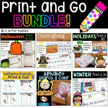 Print and Go BUNDLE!