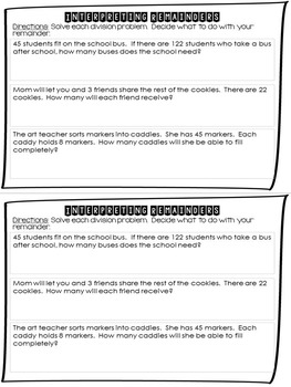 Print and Go Booklets: Perform Operations in Fifth Grade