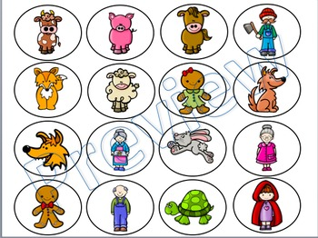 Print and Go Center: Characters