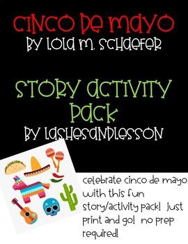 Print and Go!  Cinco de Mayo Read Aloud Story/Activity Pack