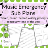 Print and Go Emergency Sub Plans for the Non Music Substit