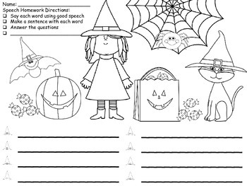 "Print and Go FREE: Be'Witching"" Halloween Activities"