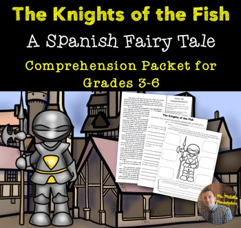 Print and Go Fairy Tales from Around the World: The Knights and the Fish (Spain)