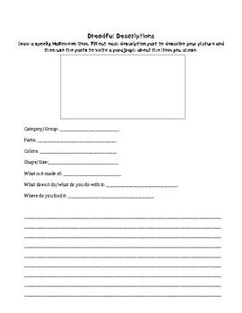 Print and Go Halloween Language Activities