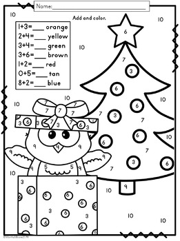 Print and Go Holiday Math Pack {First and Second Grade}