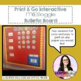 Print and Go Interactive Math Bulletin Board {Boggle}