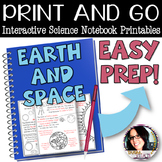 Print and Go Interactive Sheets Earth and Space (Rotation & Revolution)