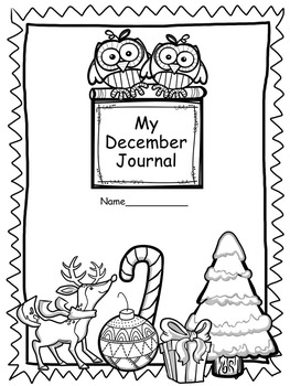 Print and Go Journal Prompts for December