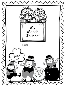Print and Go Journal Prompts for March