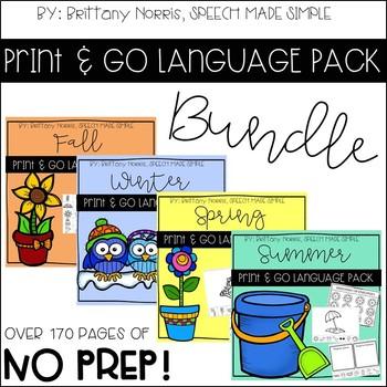 Print and Go Language Pack Bundle