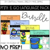 Print and Go Language Pack Bundle