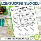 Print and Go Language Sudoku - No Prep Language Practice