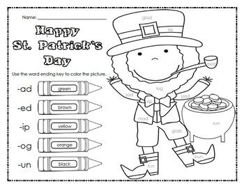 Print and Go: March Math and Literacy Activities